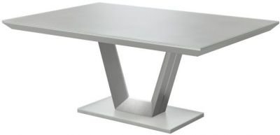Vivaldi Matt Grey Dining Table