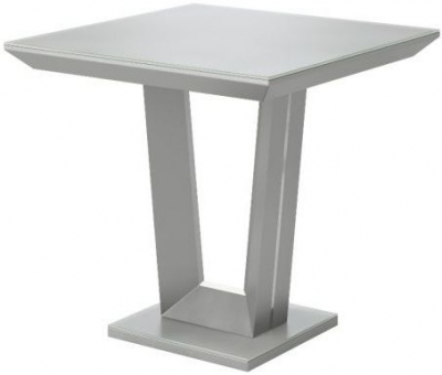 Vivaldi Matt Grey Side Table