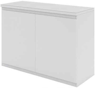 Vivaldi Matt White 2 Door Sideboard