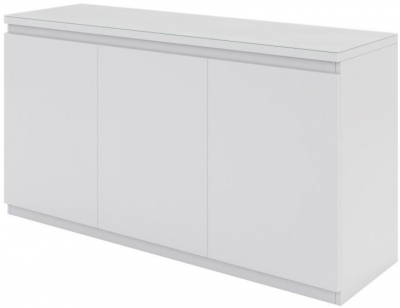 Vivaldi Matt White 3 Door Sideboard