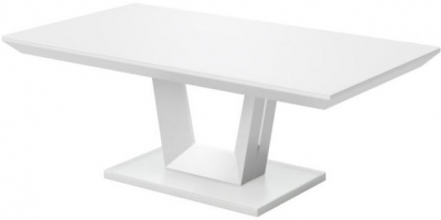 Vivaldi Matt White Coffee Table