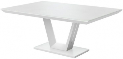 Vivaldi Matt White Dining Table