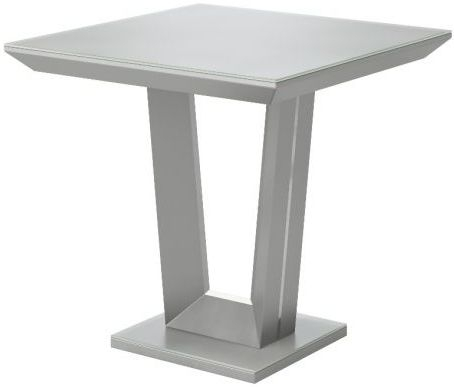 Vivaldi Matt Grey Side Table