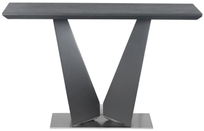Westin Grey Ceramic Console Table