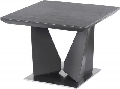 Westin Grey Ceramic Side Table