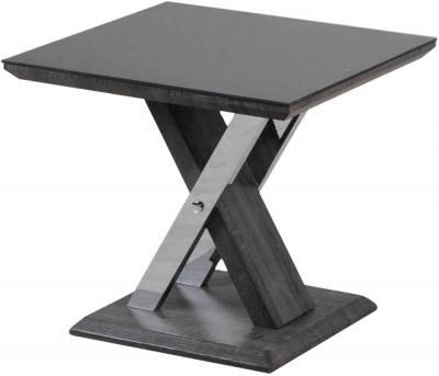Xavi Grey Walnut Side Table