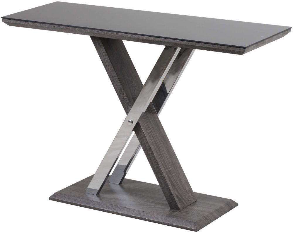 Xavi Grey Walnut Console Table