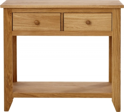 Aston Oak Console Table