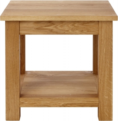 Aston Oak Lamp Table