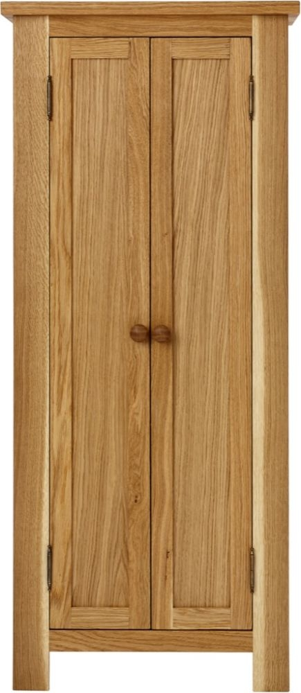 Aston Oak 2 Door Wardrobe