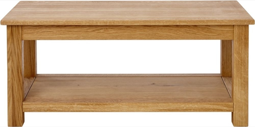Aston Oak Coffee Table