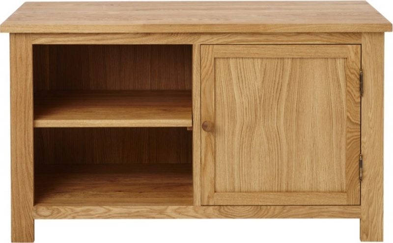 Aston Oak Large TV Unit