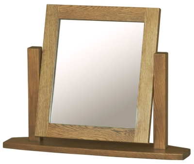 Bordeaux Oak Dressing Mirror