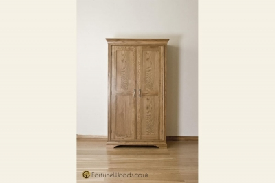 Bordeaux Oak Ladies Wardrobe - 2 Door