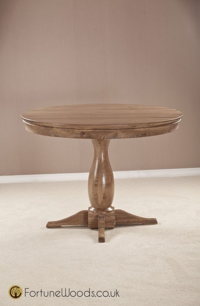 Bordeaux Oak Dining Table - Round