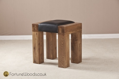 Boston Oak Dressing Stool
