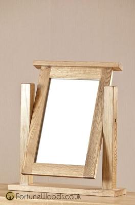 Cotswold Oak Dressing Mirror