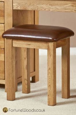 Cotswold Oak Dressing Stool