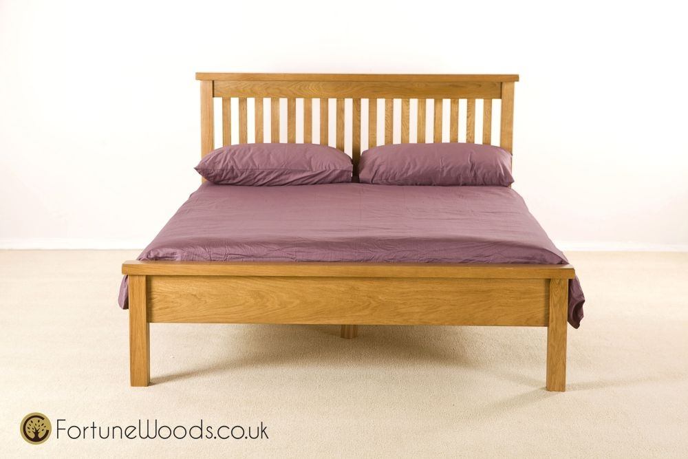 Cotswold Oak Bed - Low Foot End