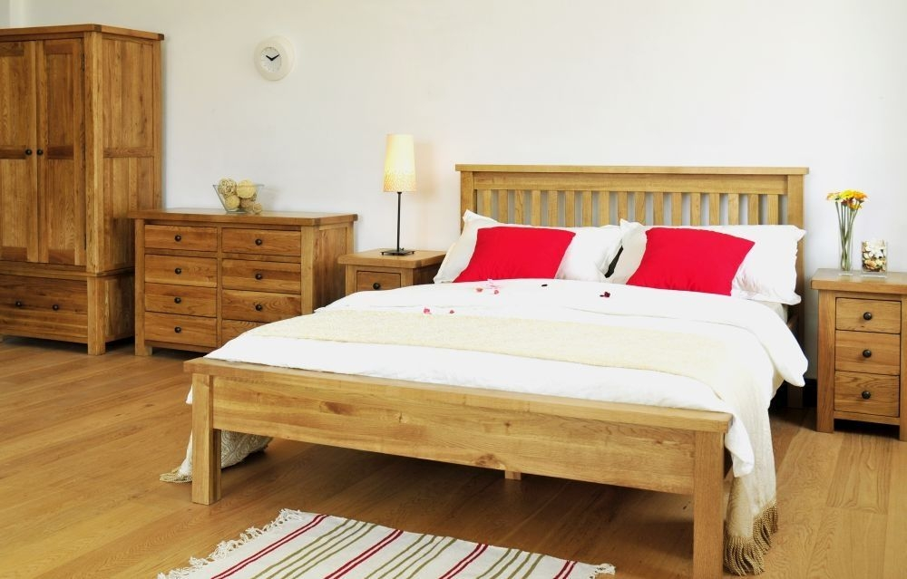 Cotswold Oak Bedroom Set