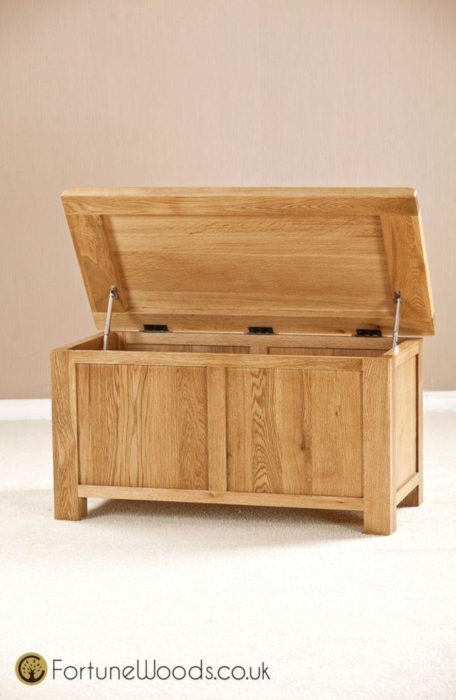 Cotswold Oak Blanket Box