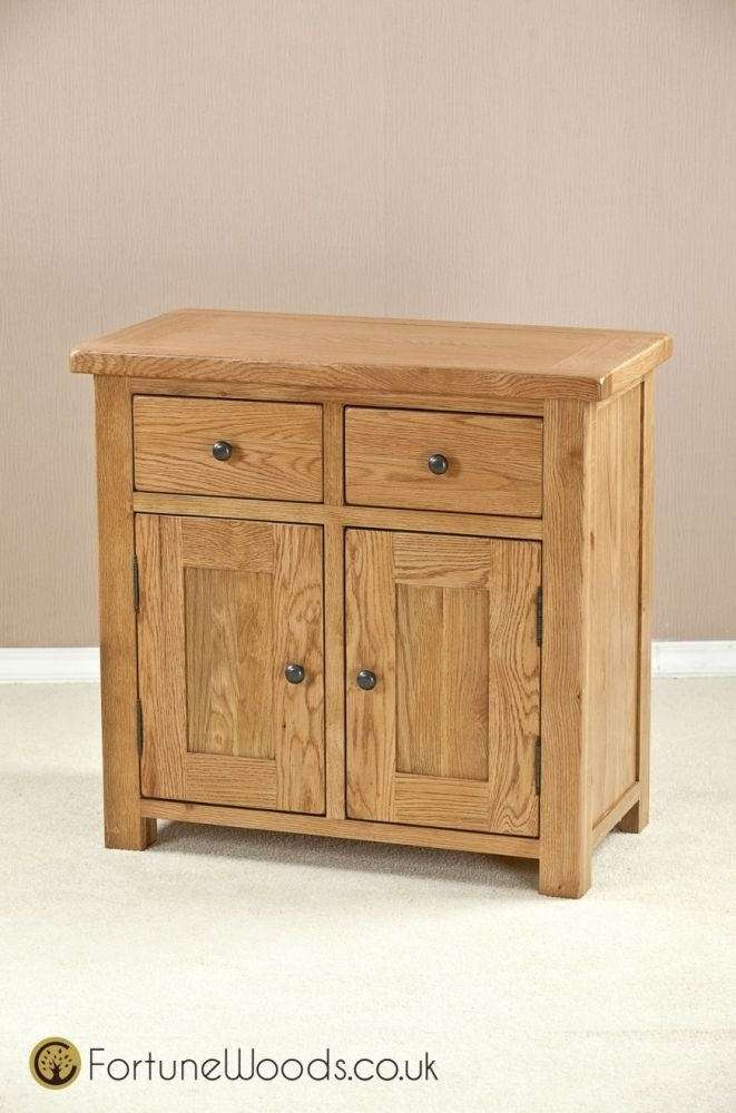 Cotswold Oak Sideboard - 2 Door 2 Drawer