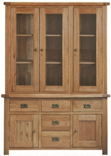 Country Oak Large Dresser