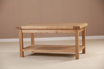 Country Oak Coffee Table