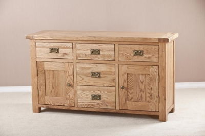 Country Oak Large Sideboard