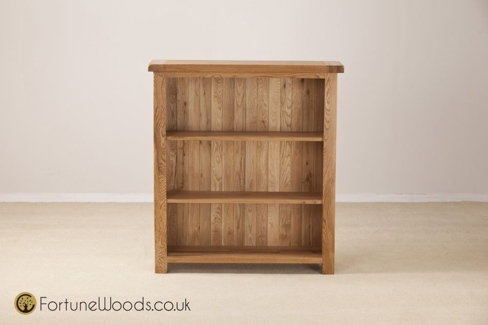 Country Oak Bookcase - 3ft Wide