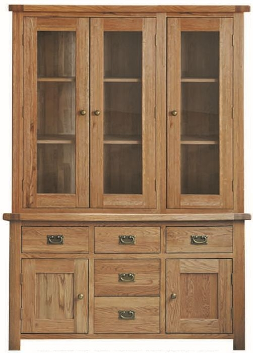 Country Oak Dresser - 4ft 6in