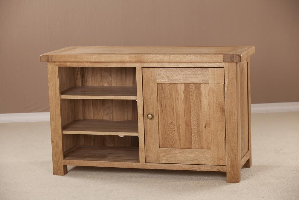 Country Oak TV Unit