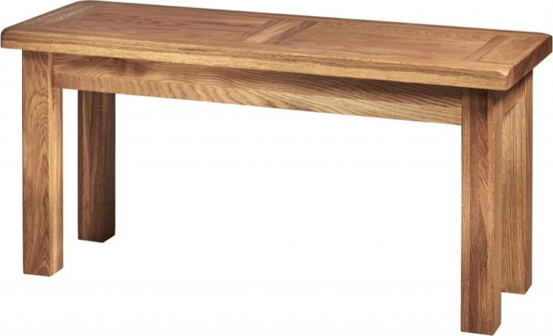 Country Oak Dining Bench