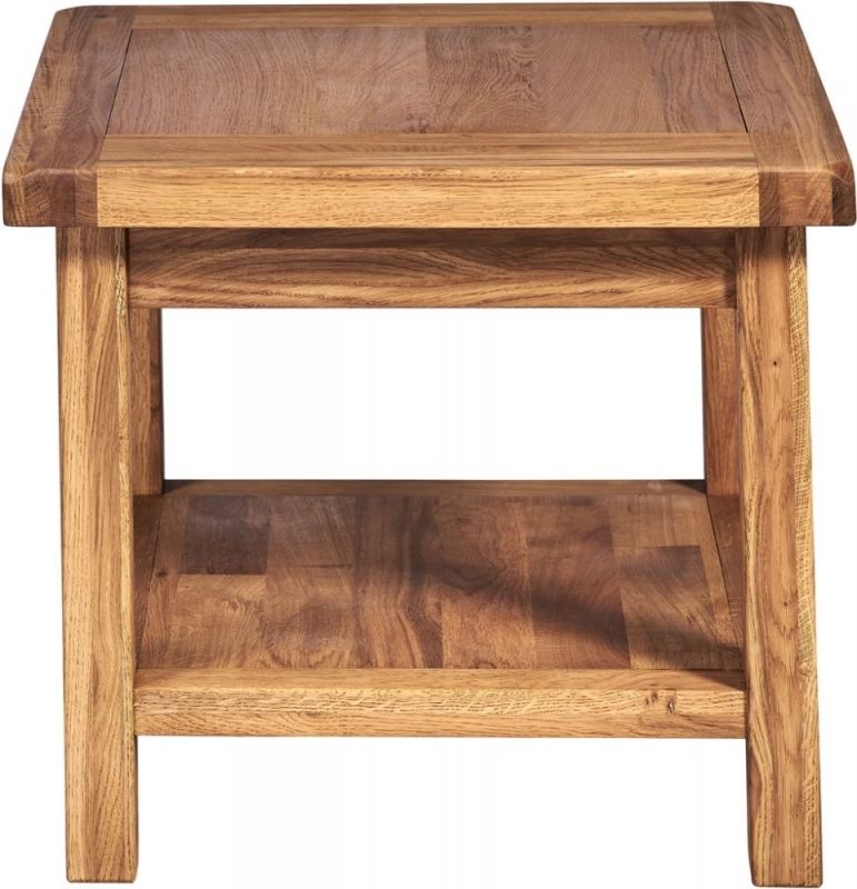 Country Oak Square Coffee Table
