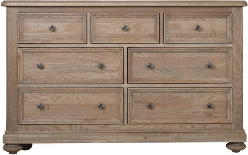 Huntington Oak 3+4 Drawer Chest