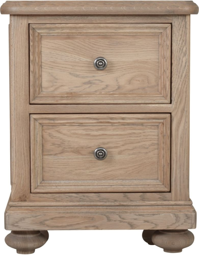 Huntington Oak Bedside Cabinet