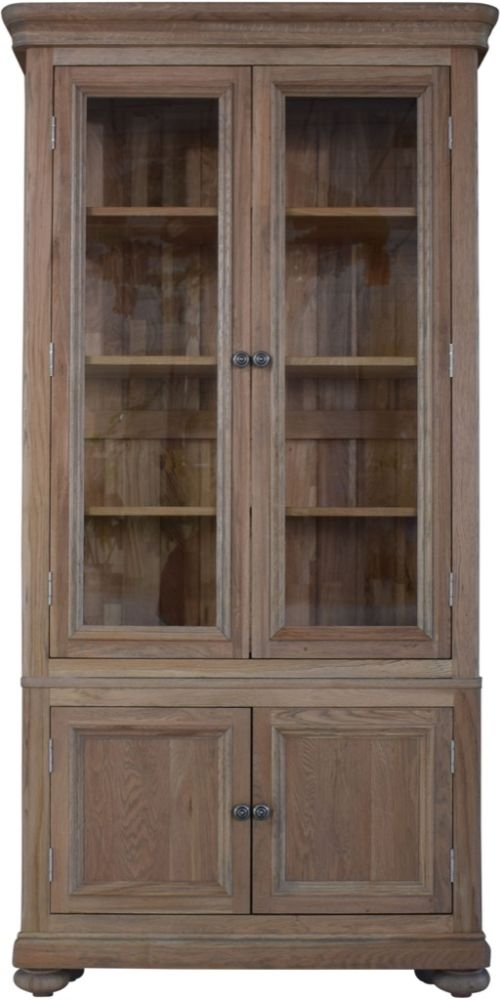 Huntington Oak Display Cabinet