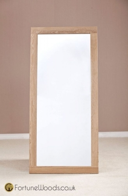 Milano Oak Wall Mirror - 1300 X 600