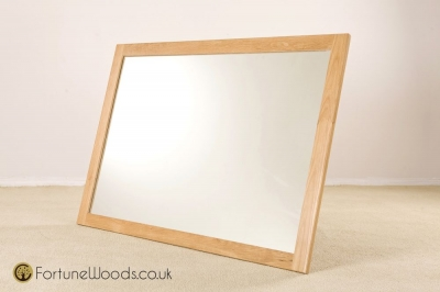 Milano Oak Wall Mirror - 1300 X 900