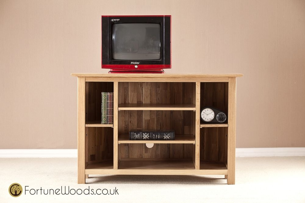 Milano Oak Corner TV Unit