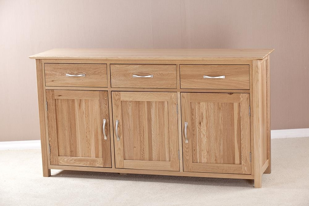 Milano Oak Large Sideboard