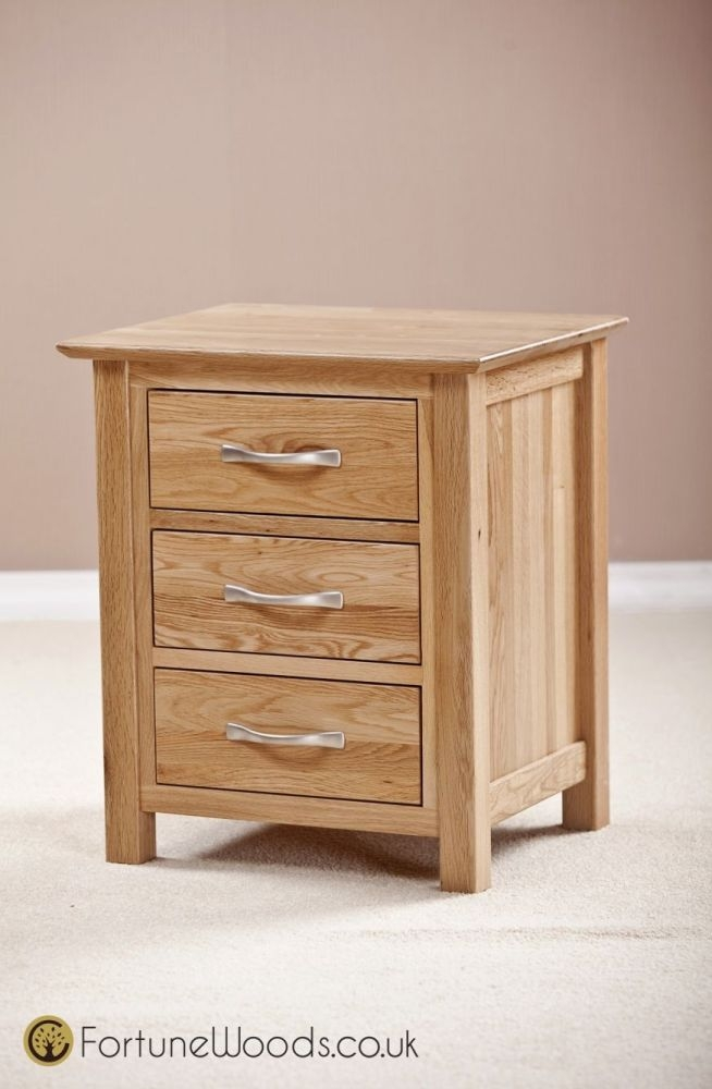 Buy milano oak bedside cabinet drawer online cfs uk