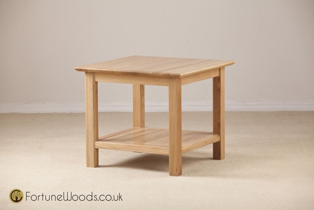 Milano Oak Coffee Table - 530mm