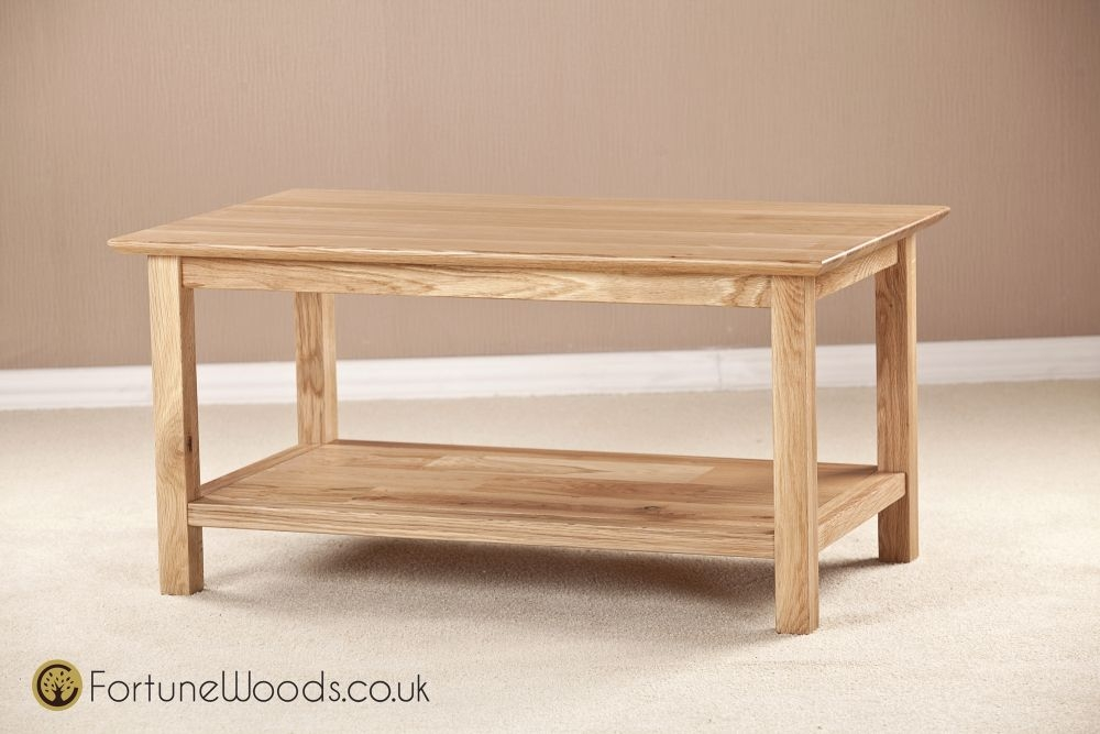 Milano Oak Coffee Table - 915mm