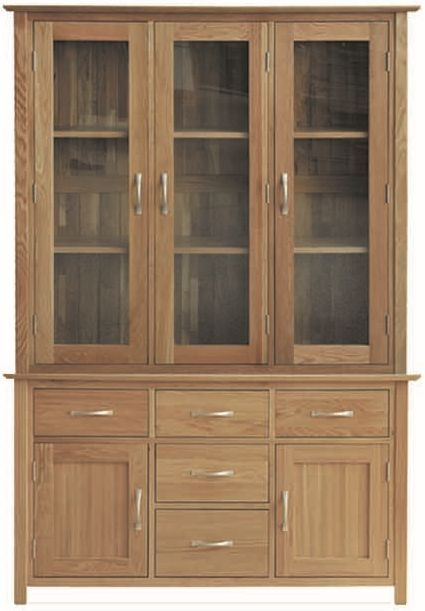 Milano Oak Dresser - 4ft 6in