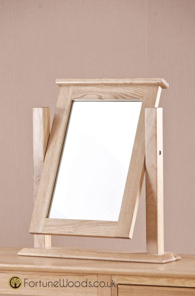 Milano Oak Dressing Mirror