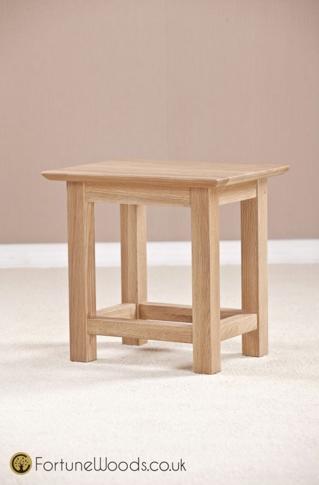 Milano Oak Side Table