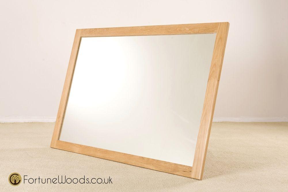 Milano Oak Wall Mirror - 1300 X 900