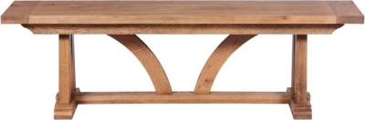 Modesto Oak Dining Bench