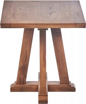 Modesto Oak Side Table